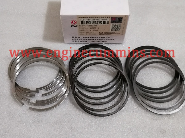 Cummins 3802230 B Set Série segments de piston
