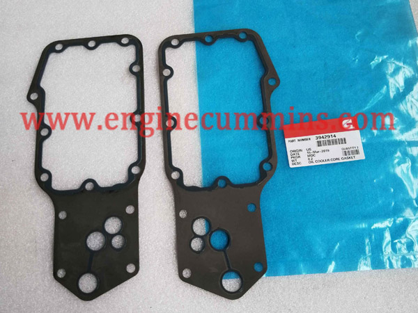 Cummins 3942914 B Series Oil Cooler Core Gasket